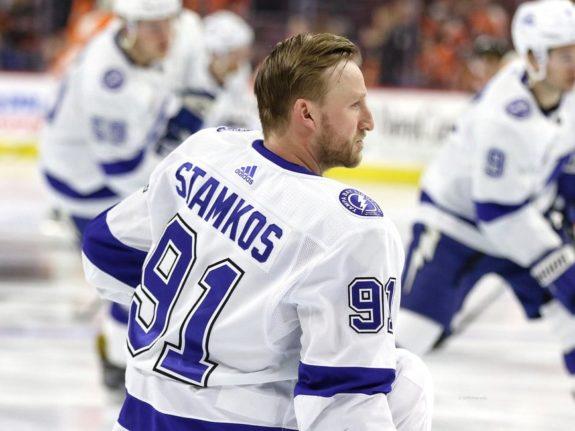 Steven Stamkos #91, Tampa Bay Lightning