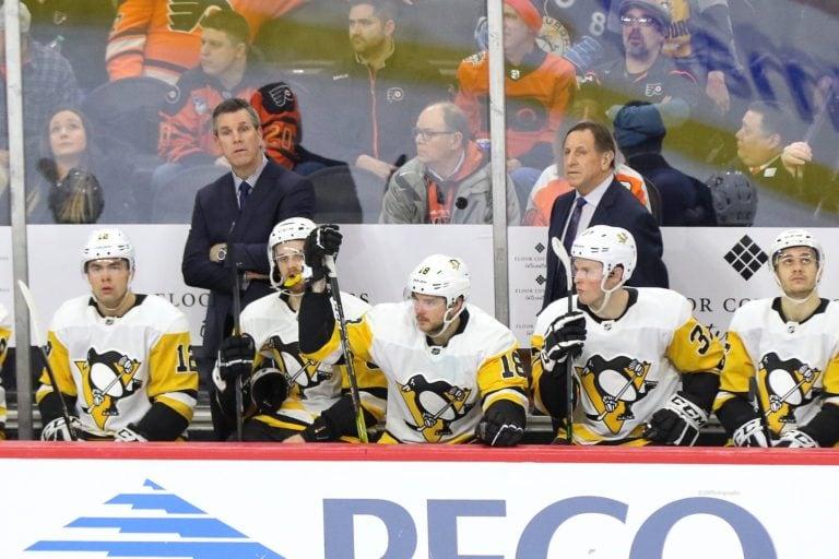 Mike Sullivan Jacques Martin Pittsburgh Penguins