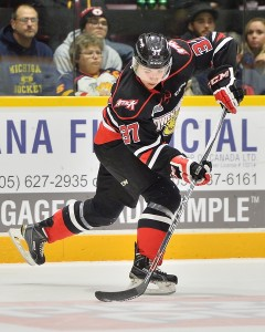 Nick Suzuki of the Owen Sound Attack. Photo by Terry Wilson / OHL Images.