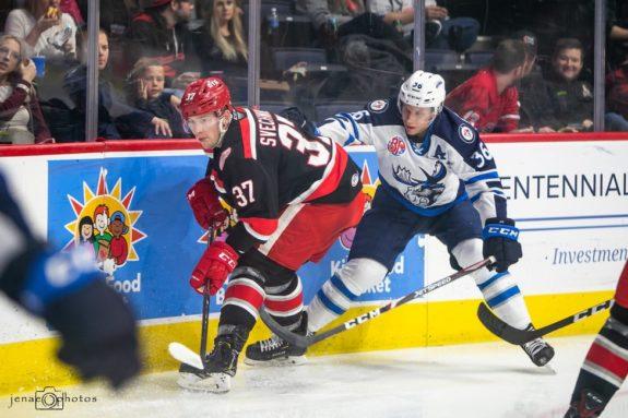 Evgeny Svechnikov Grand Rapids Griffins Nelson Nogier Manitoba Moose