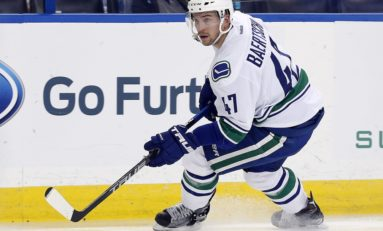 The Much-Needed Return of Sven Baertschi