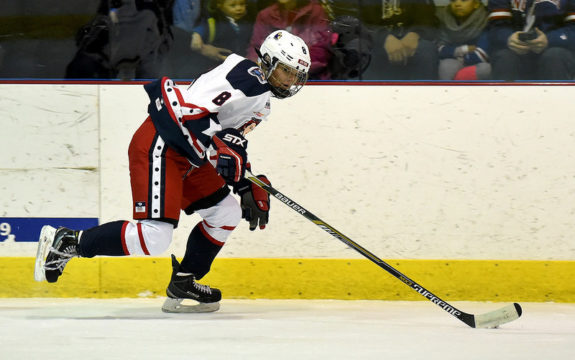 Sydney Kidd of the New York Riveters (Troy Parla)