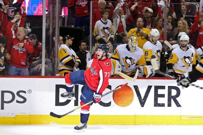 Capitals right wing T.J. Oshie