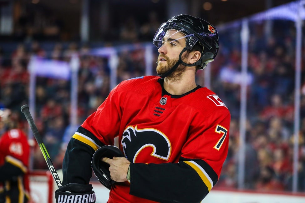 Calgary Flames Have Big T J Brodie Decision To Make
