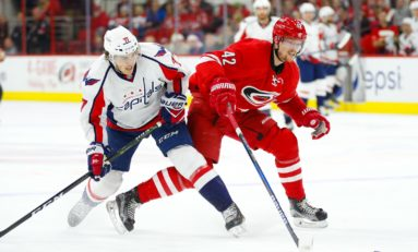 Recap: Capitals Outlast Hurricanes for Sixth Straight Victory