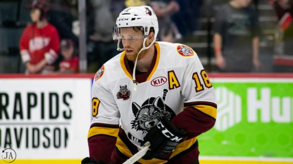 TJ Tynan, Chicago Wolves
