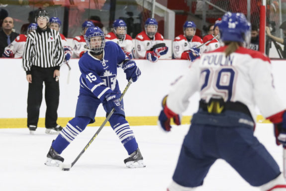 Carlee Campbell, CWHL, Toronto Furies