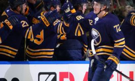 Sabres' Tage Thompson to Miss 5-6 Months After Shoulder Surgery