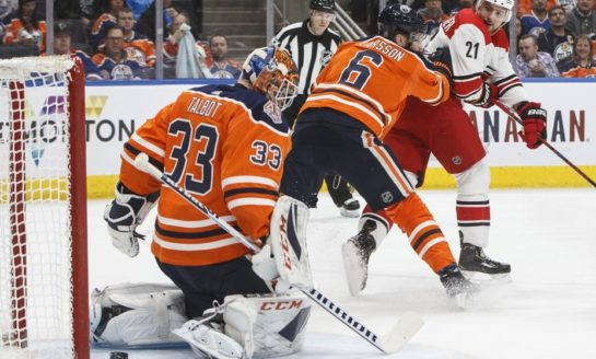 Hurricanes Handle Oilers - Niederreiter Nets 1st Two