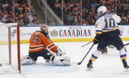 Blues Beat Oilers - Maroon Gets Game Winner