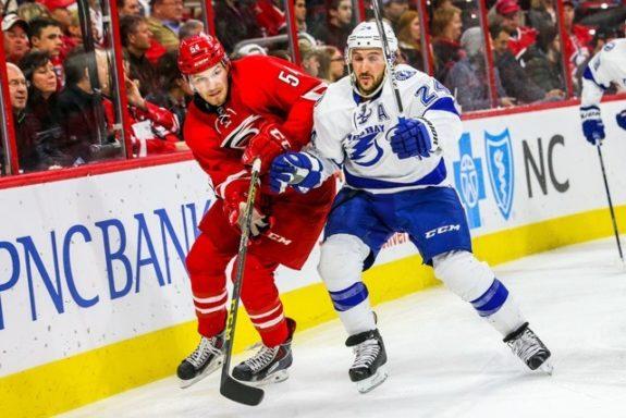 Lightning forward Ryan Callahan