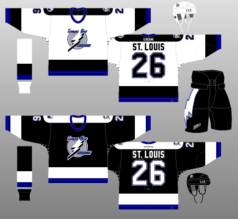 Tampa Bay Lightning 2001-07 Jerseys fd6da07dd