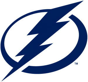 Tampa Bay Lightning log.
