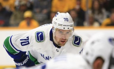 Pearson Enjoying Career Year With Canucks