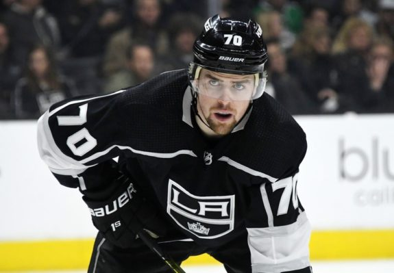 Los Angeles Kings left wing Tanner Pearson