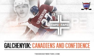 Tape2Tape: Did the Canadiens Ruin Alex Galchenyuk?