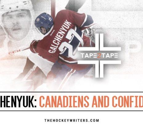 Tape2Tape: Did the Canadiens Ruin Alex Galchenyuk?