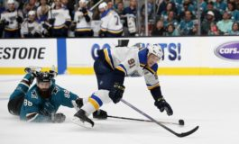 Blues on Brink of Cup Final With Win Over Sharks