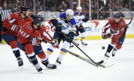 Blues Beat Capitals to Get to 3-Game Win Streak
