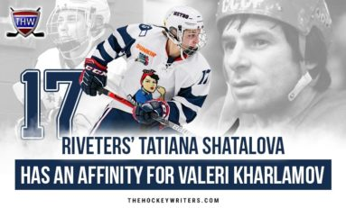 Riveters' Tatiana Shatalova Has an Affinity for Valeri Kharlamov