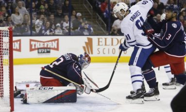 Blue Jackets Don't Quite Stack Up to the Leafs