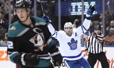 Maple Leafs Getting Return on Tavares Investment