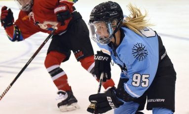 Beauts Grind Out 3-2 Win Over Riveters