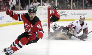 Devils Down Slumping Senators - Hall Tallies 4 Points