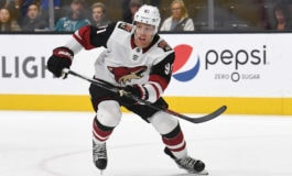 Coyotes Lack the Cap Space to Re-Sign Hall