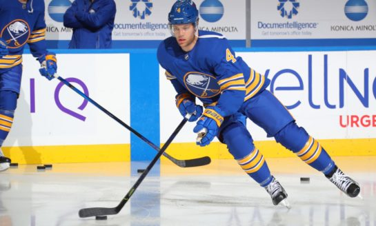 New Look Sabres Get Same Results to Start 2020-21 Season
