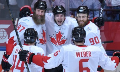 Giroux, Muzzin Pull Into the Lineup for Team Canada; Weber and Getzlaf Out