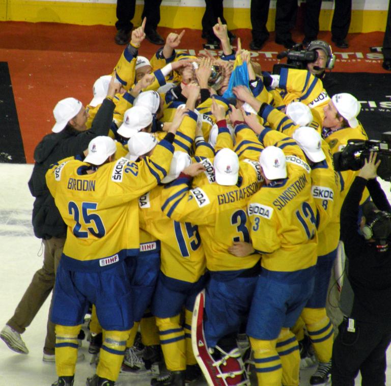 Team Sweden WJHC gold 2012