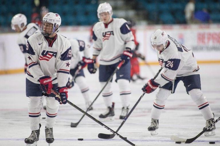 Team USA's Jack Hughes Quinn Hughes
