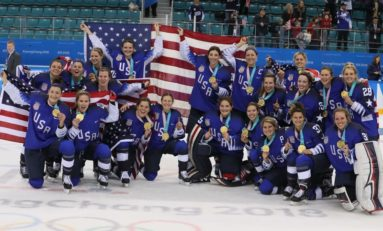 Devils Honor Team USA's Gold Medalists
