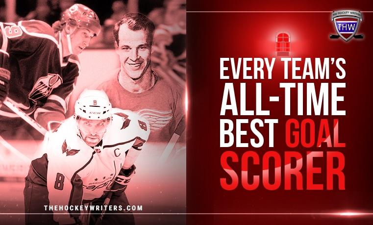 NHL Every Team's All-Time Best Goal Scorer
