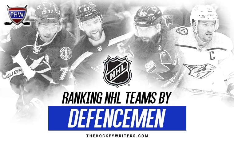 Ranking NHL Teams By Defencemen