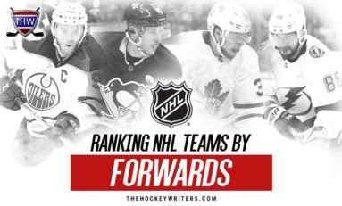 Ranking NHL Teams By Forwards