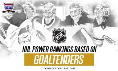 Ranking NHL Teams By Goaltenders
