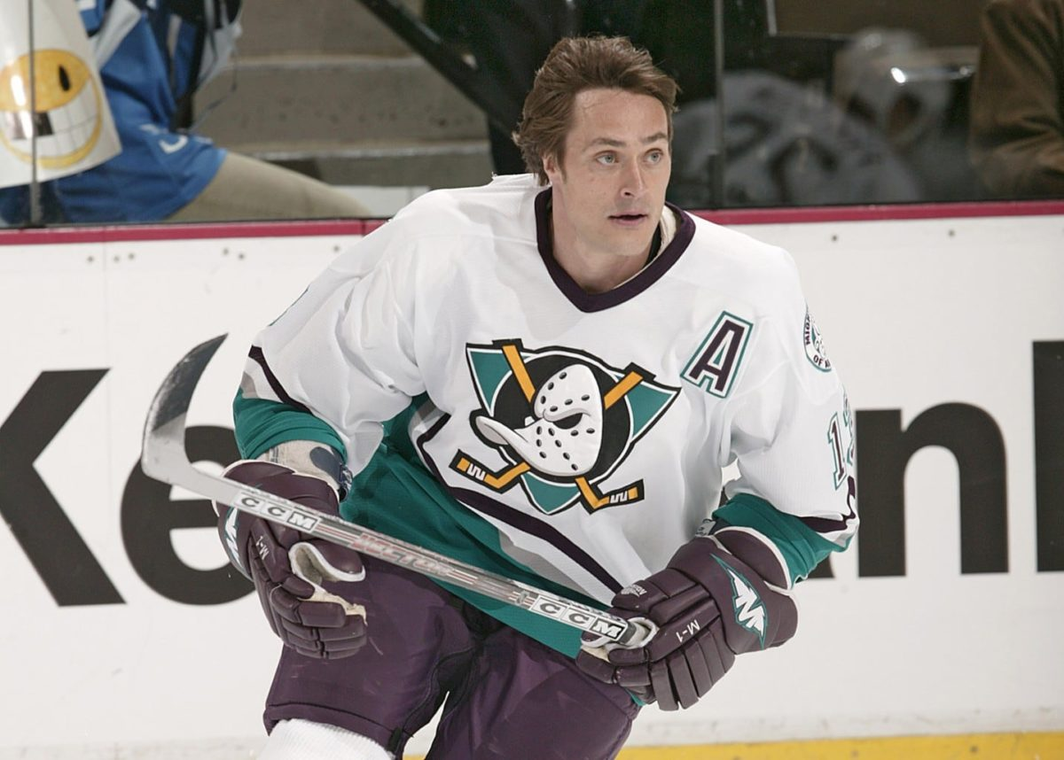Teemu Selanne Mighty Ducks of Anaheim