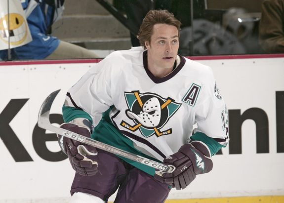 Teemu Selanne Mighty Ducks of Anaheim