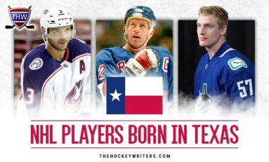 The 5 Best NHL Players Born in Texas