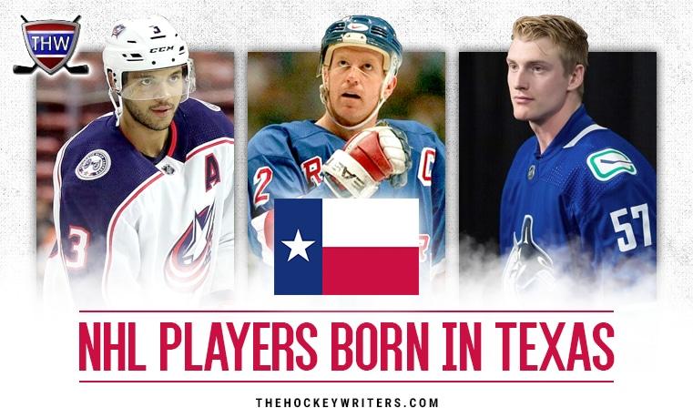 Brian Leetch, Tyler Myers, and Seth Jones