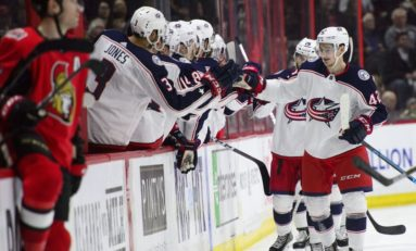 Blue Jackets Bonded By Trust