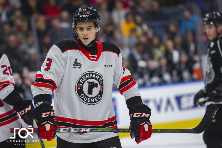 Theo Rochette Quebec Remparts