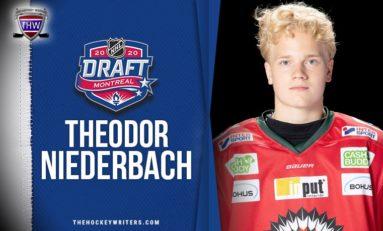 Theodor Niederbach - 2020 NHL Draft Prospect Profile