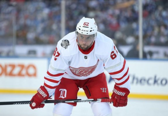 Thomas Vanek of the Detroit Red Wings.