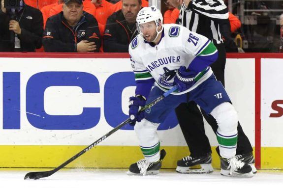 Thomas Vanek, Canucks