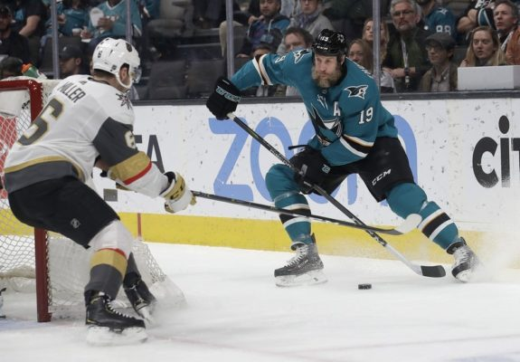 Joe Thornton, Colin Miller