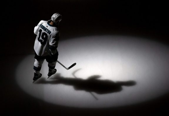 San Jose Sharks Joe Thornton