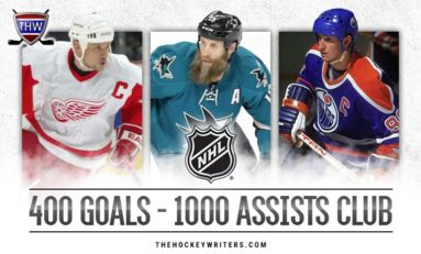 The 400-Goal, 1,000-Assist Club